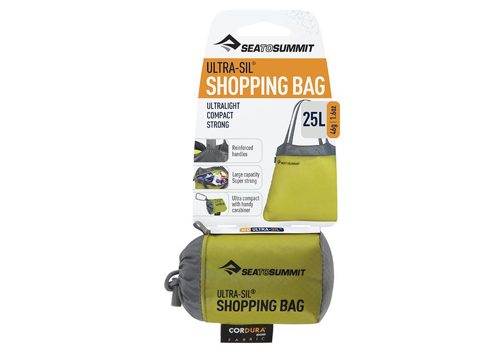 Калъф на джобна чанта Sea to Summit Ultra-Sil Shopping Bag Lime