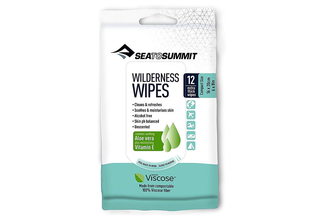 Мокри кърпички Sea to Summit Wilderness Wipes Compact 8 бр.