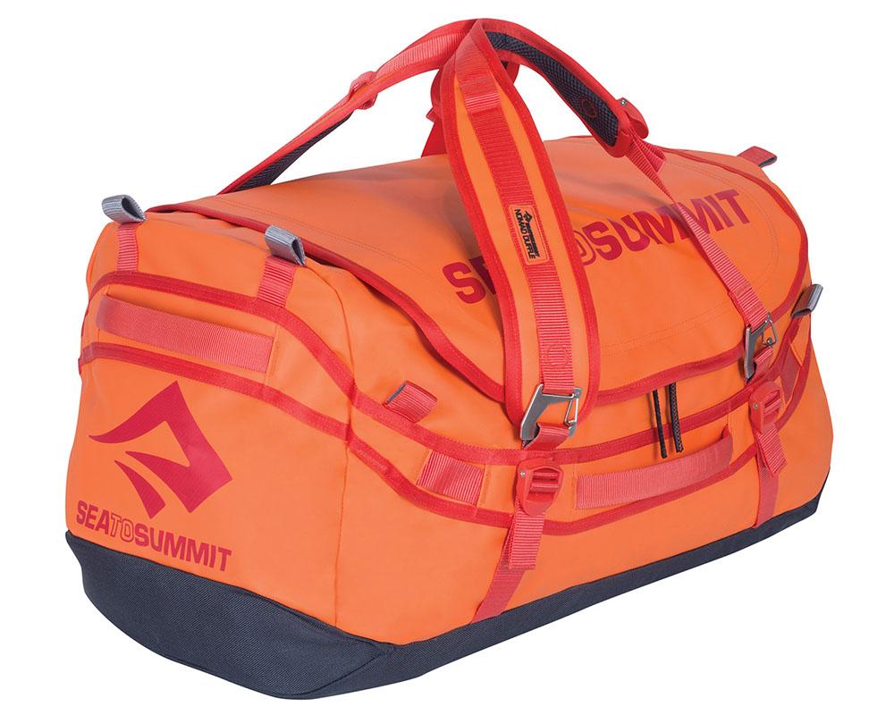 Експедиционен сак - раница Sea to Summit Nomad Duffle Bag 45L здрави ципове