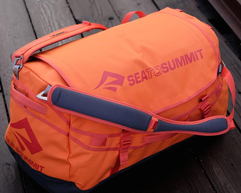 Експедиционен сак - раница Sea to Summit Nomad Duffle Bag 45L готов за път
