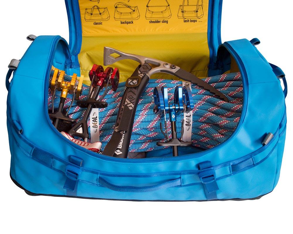 Експедиционен сак - раница Sea to Summit Nomad Duffle Bag с алпийска екипировка