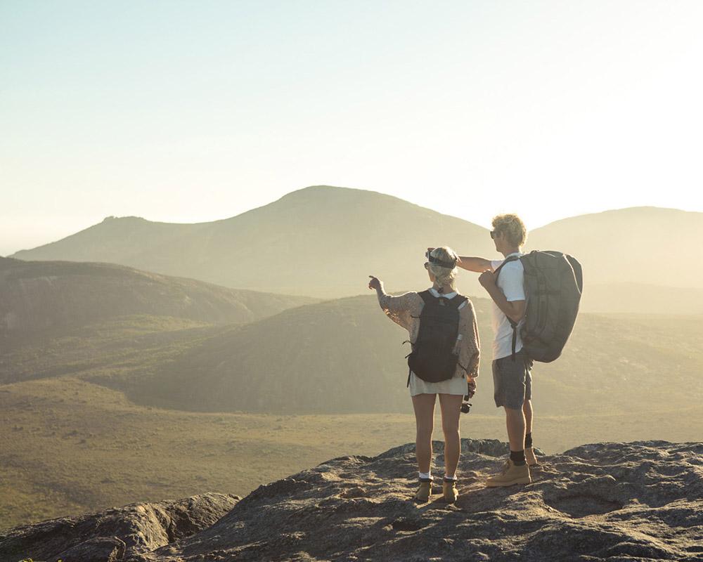 Експедиционен сак - раница Sea to Summit Nomad Duffle Bag трекинг в планината