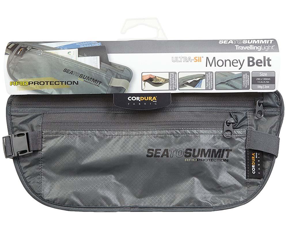 Портмоне за кръст Sea to Summit Money Belt RFID защита против дигитална кражба
