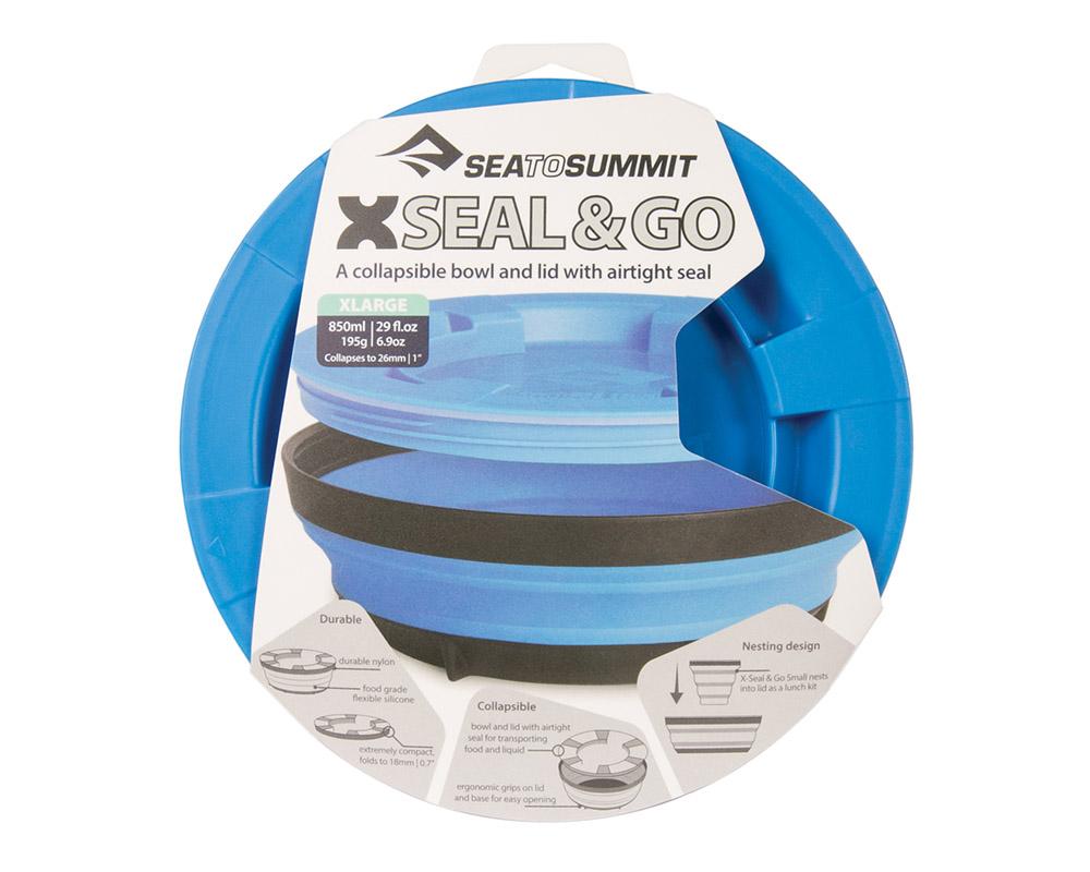 Сгъваема купа с капак Sea to Summit X-Seal & Go X-Large пакетирана