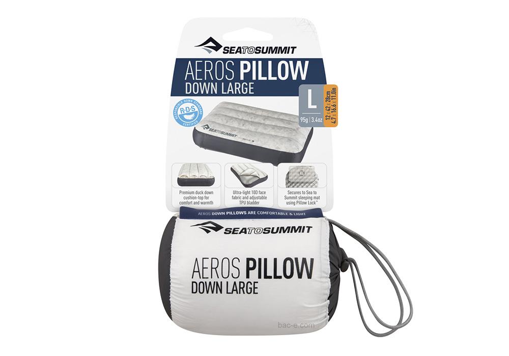 Калъф надуваема пухена възглавница Aeros Down Pillow