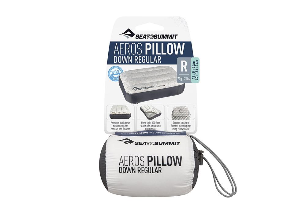 Калъф на надуваема пухена възглавница Aeros Down Pillow