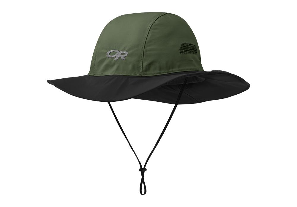 Туристическа шапка с периферия Outdoor Research Seattle Sombrero Fatigue Black