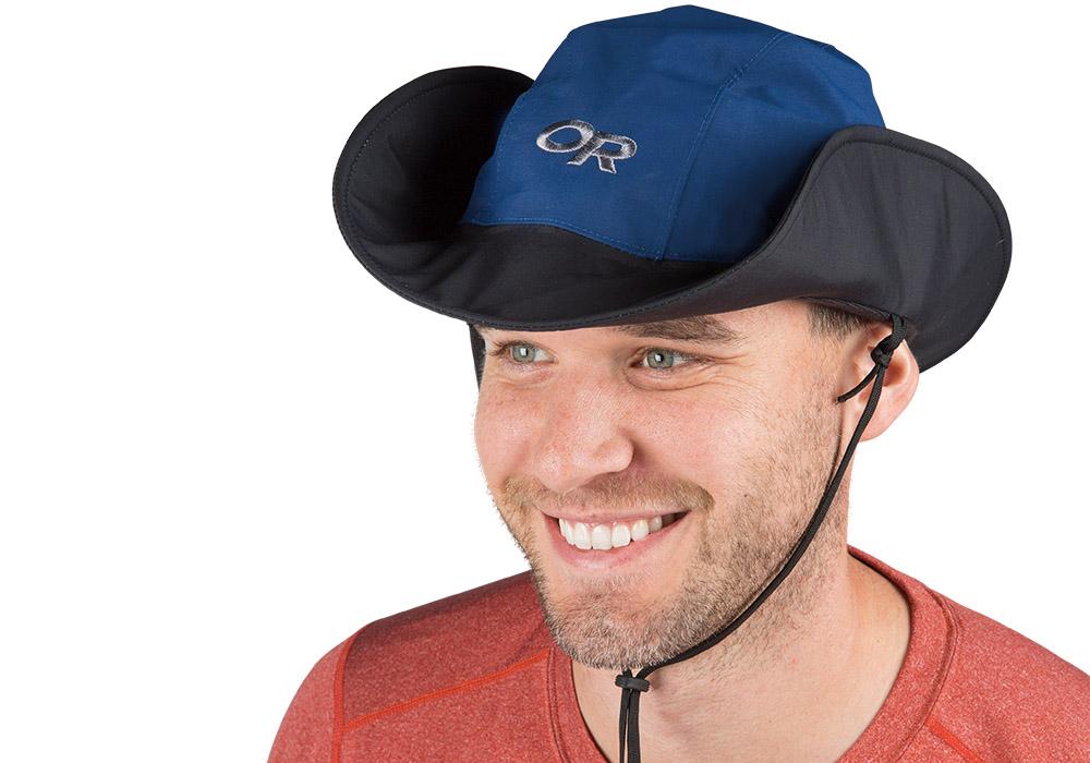 Туристическа водоустойчива и слънцезащитна шапка с периферия Outdoor Research Seattle Sombrero