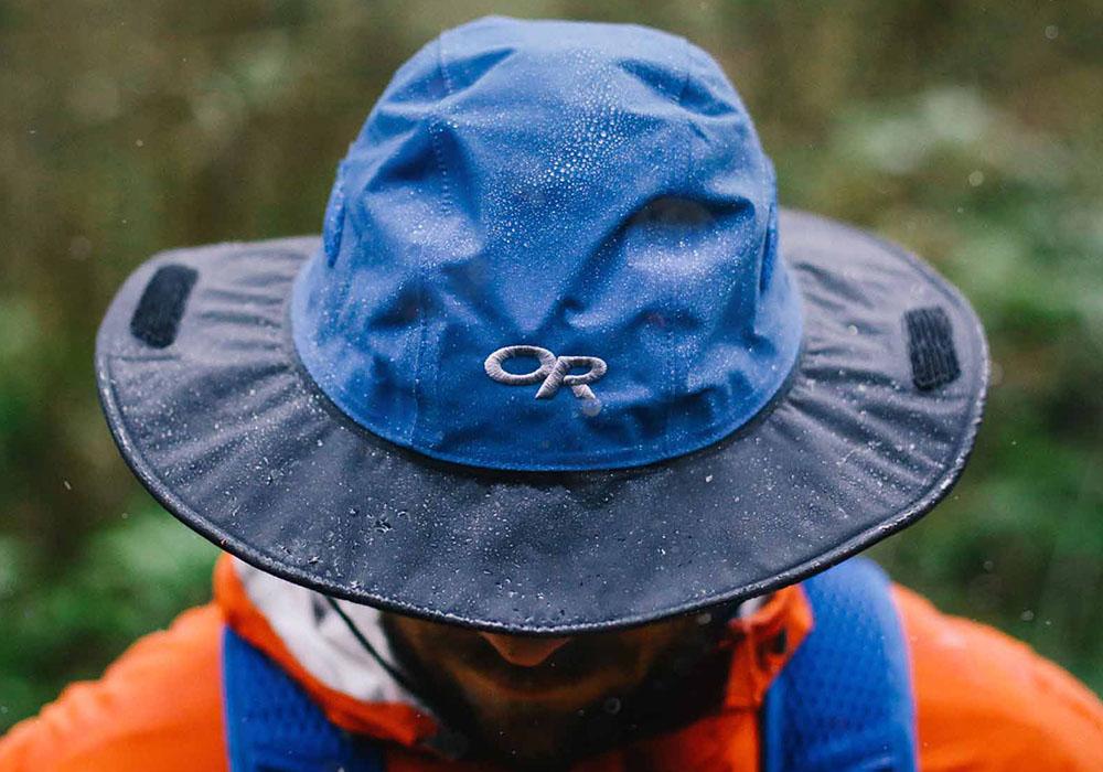 GoreTex туристическа шапка с периферия Outdoor Research Seattle Sombrero