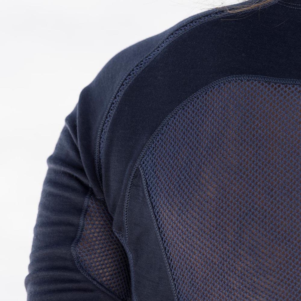 Мъжка термо блуза от мерино вълна с дълъг ръкав Bergans Barlind Shirt