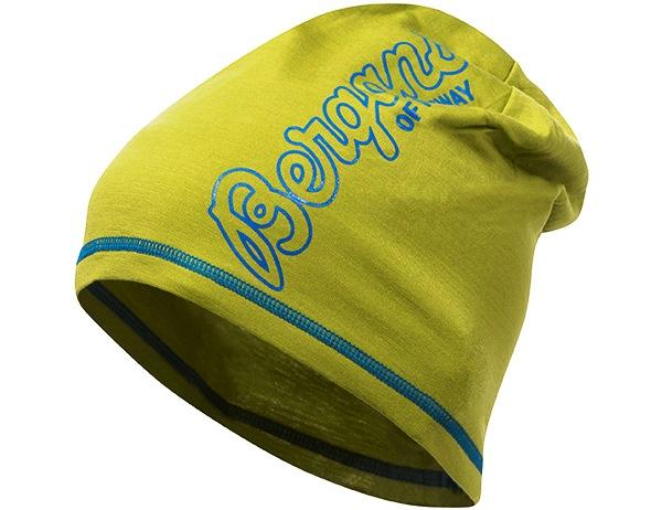 Шапка от мерино вълна Bergans Bloom Wool Beanie Lime