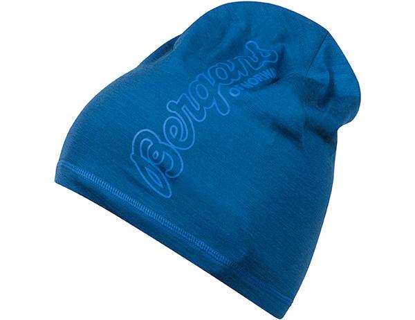 Шапка от мерино вълна Bergans Bloom Wool Beanie Ocean Athens Blue