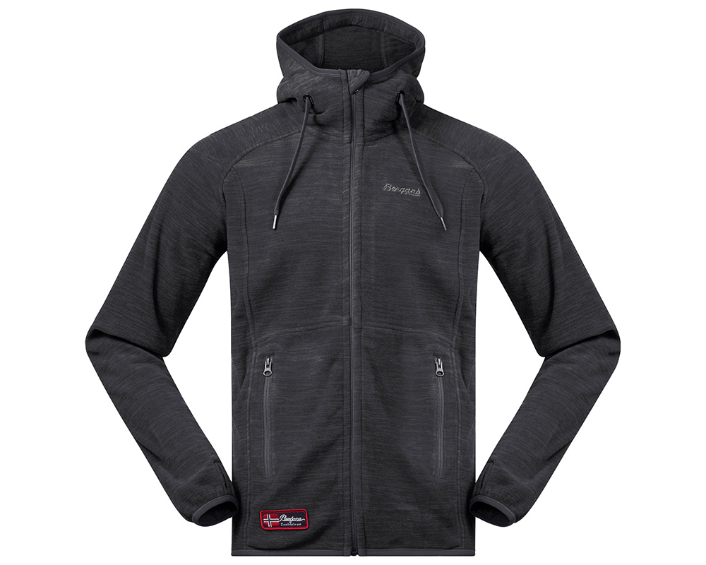 Мъжко поларено яке Bergans Hareid Jacket Solid Charcoal Melange