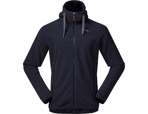 Bergans Hareid Fleece Jacket Dark Navy Melange 2021