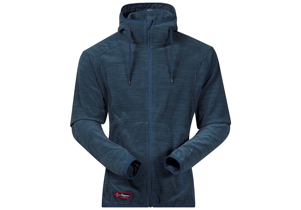 Мъжко поларено яке Bergans Hareid Jacket Dark Steel Blue