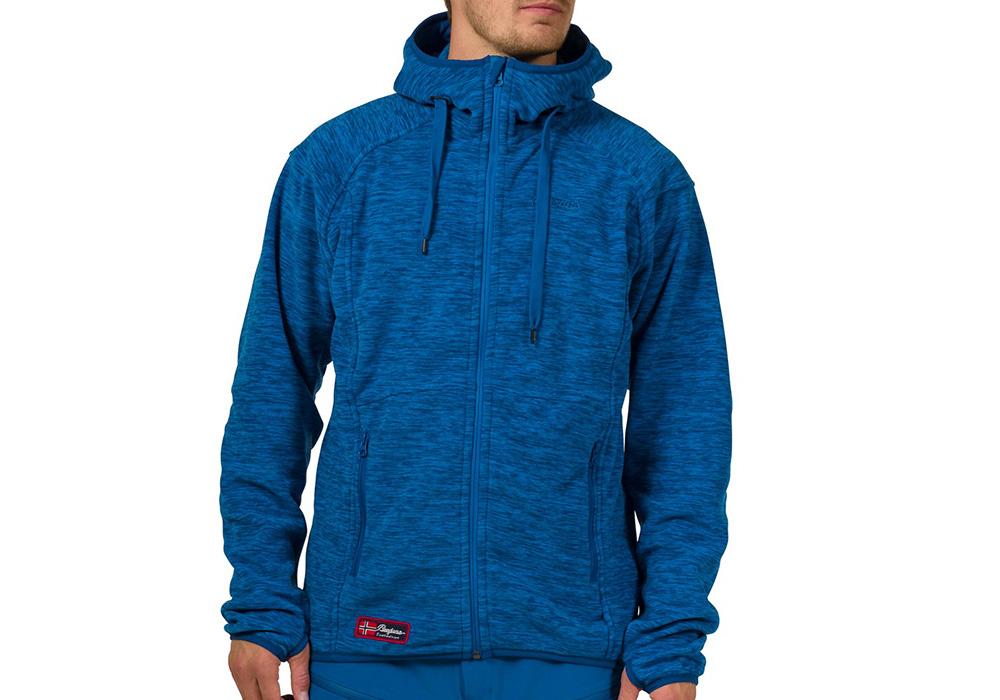 МъжКи полар с качулка Bergans Hareid Jacket