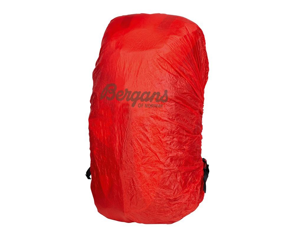 Покривало за раница Bergans Raincover M Red 40-65L