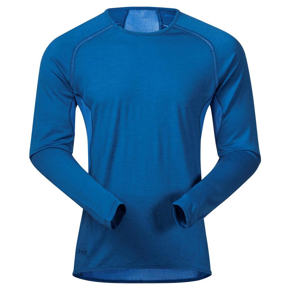 Мъжка термо блуза с дълъг ръкав Bergans Barlind Shirt Ocean