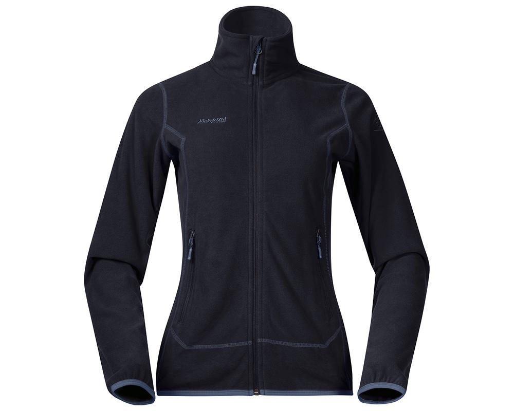 Дамско тънко поларено яке Bergans Ylvingen Lady Jacket Dark Navy 2019