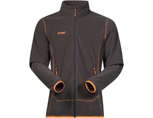 Мъжко поларено яке Bergans Ylvingen Jacket Solid Charcoal