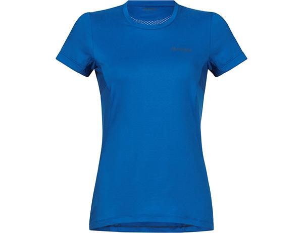 Дамска спортно-туристическа тениска Bergans Fløyen W Tee Fjord 2019