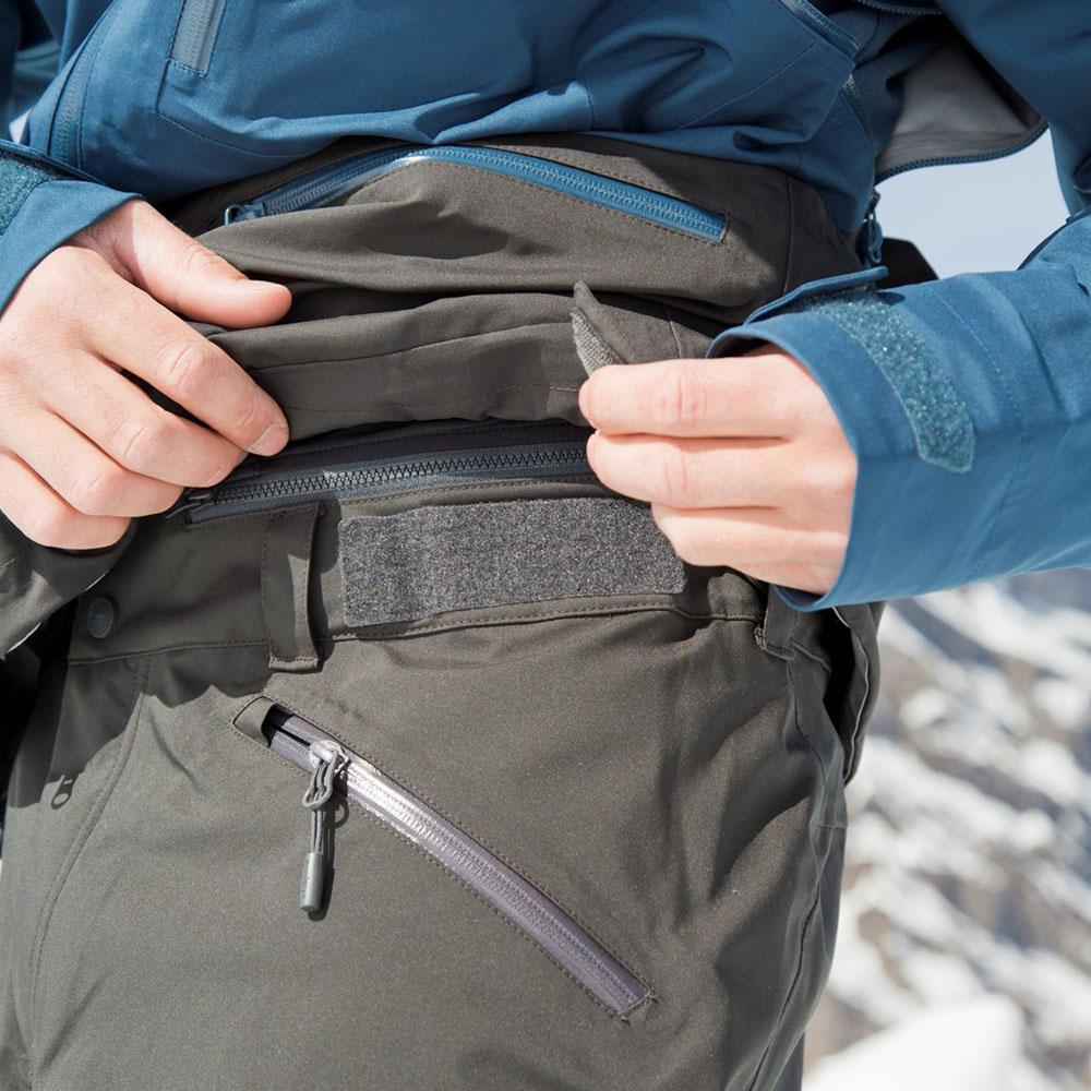 Велкро колан ски панталон с изолация Bergans Hafslo Insulated