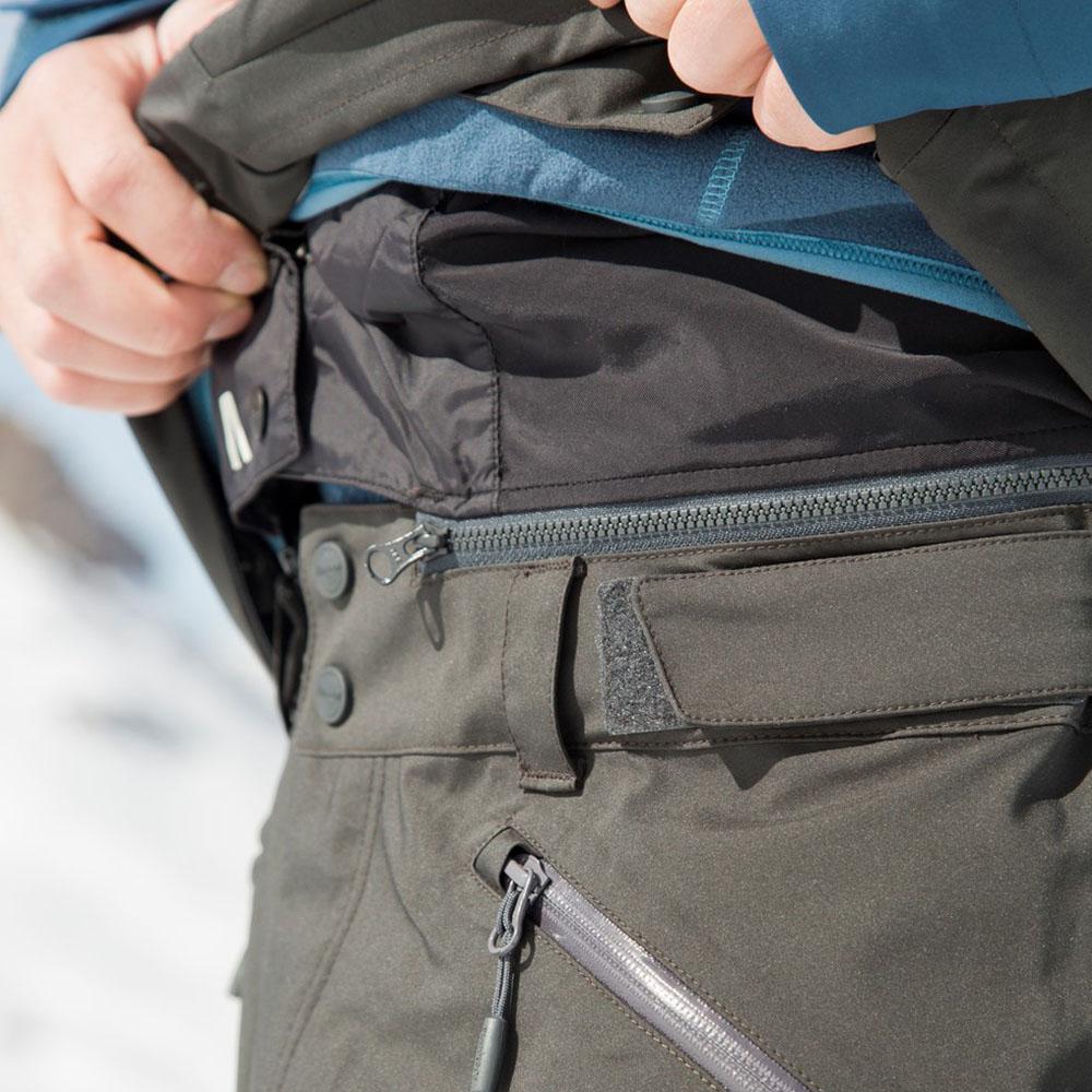 Снежна пола за свързване с яке Myrkdalen ски панталон с изолация Bergans Hafslo Insulated
