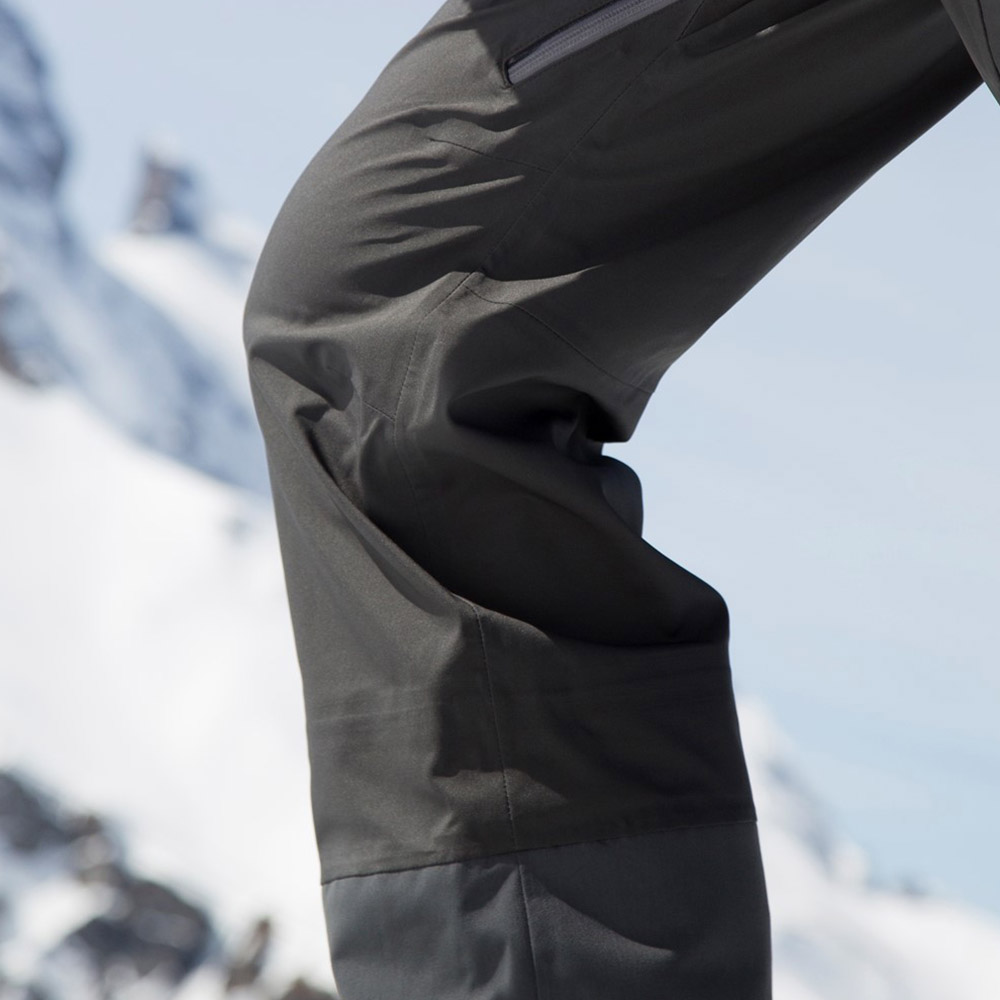Екстра пространство при колената ски панталон с изолация Bergans Hafslo Insulated