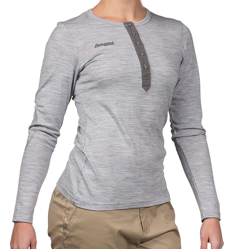 Дамска блуза от мерино вълна Bergans Henley Wool Lady Shirt