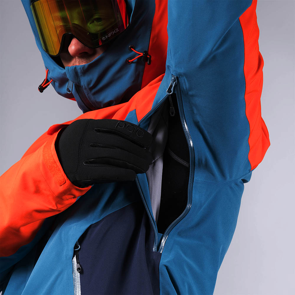 Проветрение под мишниците Bergans Oppdal Insulated Jacket Lava / Stone Blue / Navy
