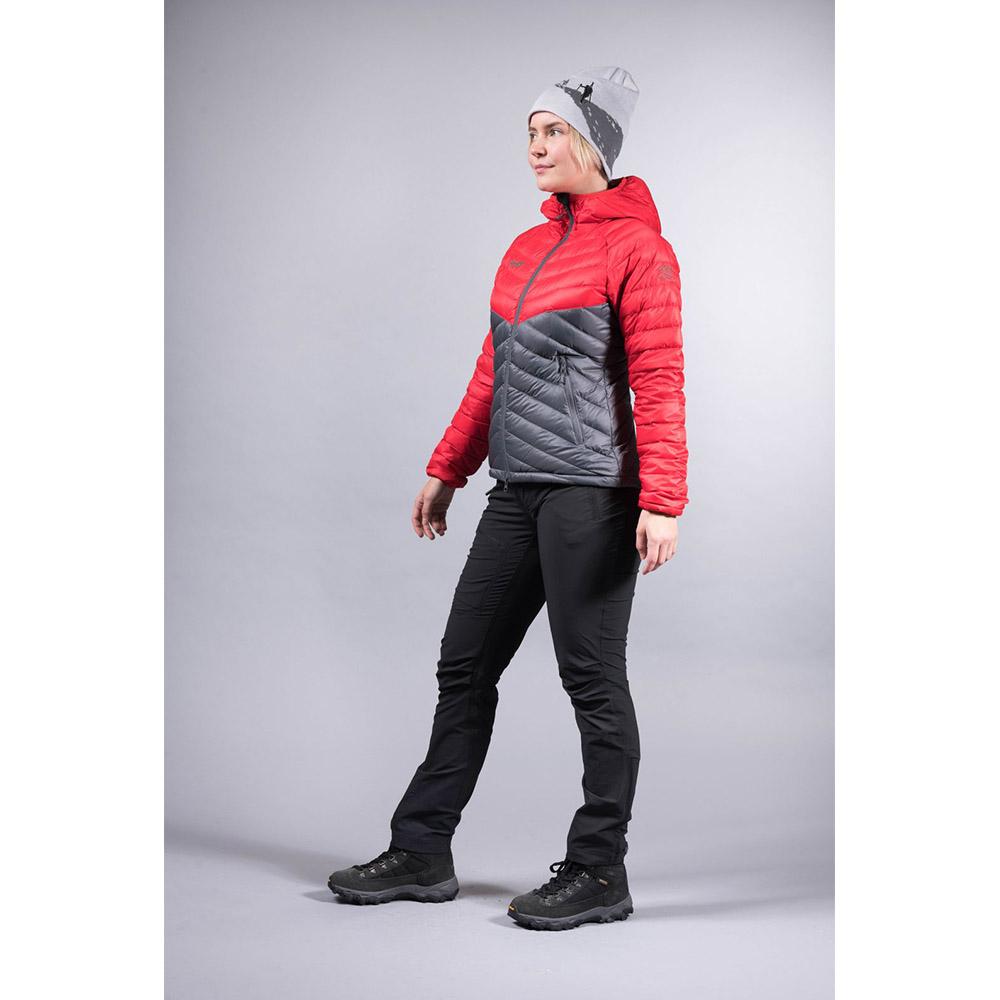 Двупосочен преден цип на дамско пухено яке Bergans Slingsbytind Down Lady Jacket
