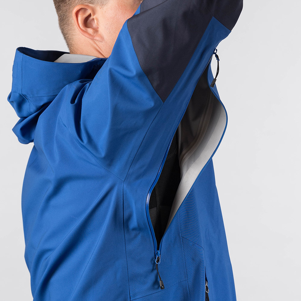 Мъжко хардшел яке Bergans Rabot 365 3L Jacket Dark Royal Blue / Navy
