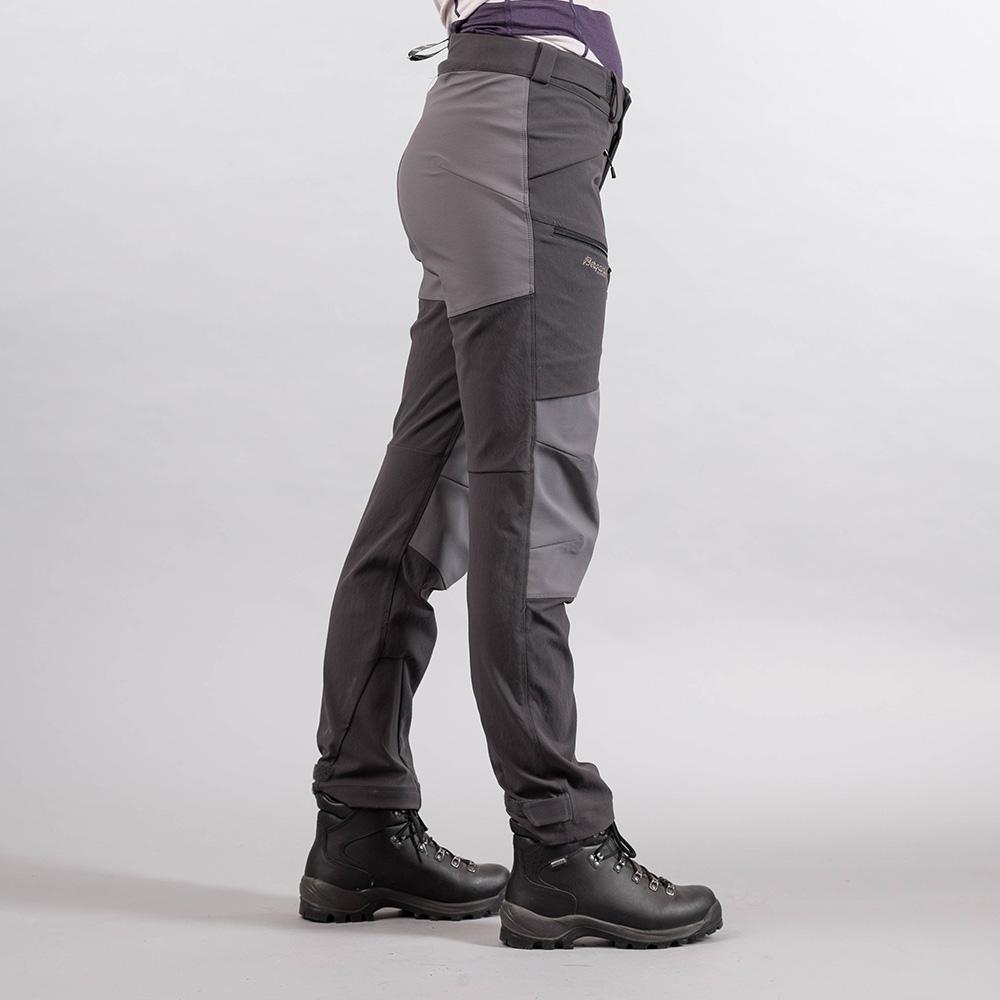 Дамски туристически панталон Bergans RABOT 365 Hybrid W Pants Solid Charcoal