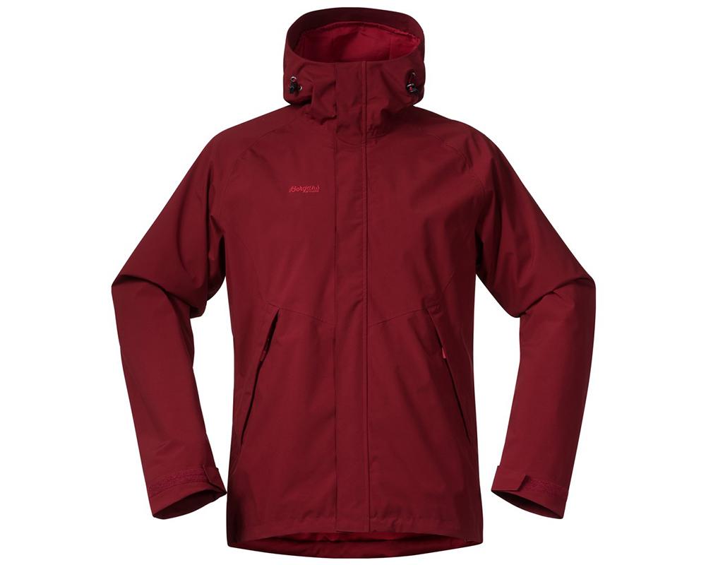 Мъжко зимно хардшел яке Bergans Ramberg 2L Insulated Burgundy Red 2019