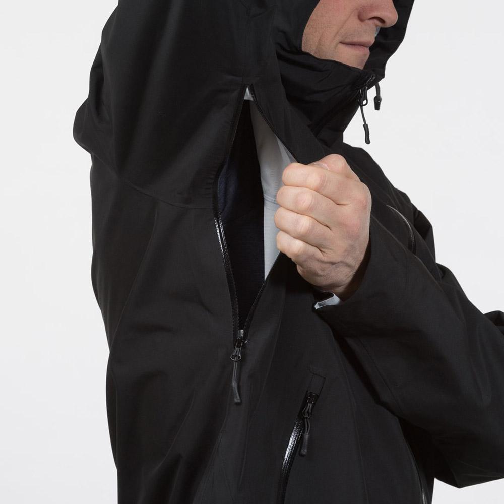 Вентилация под мишниците на мъжко хардшел яке Bergans Ramberg