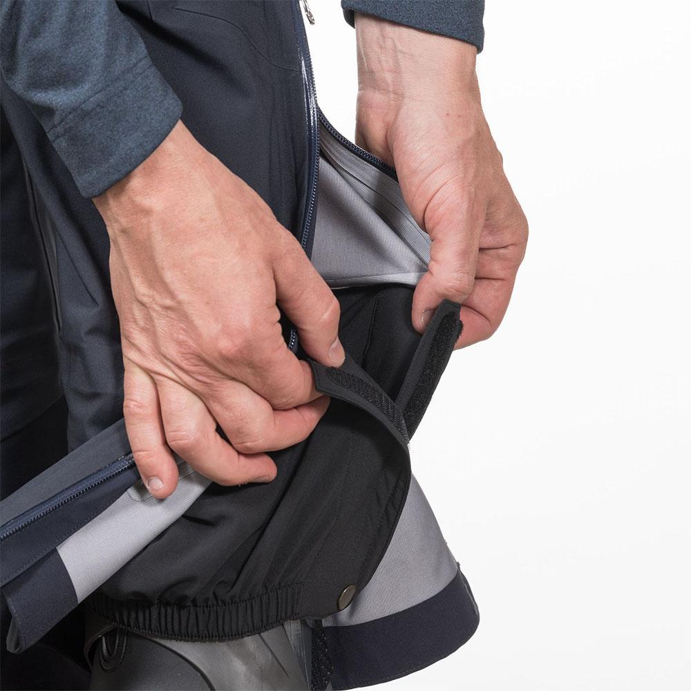 Отвори за шнурове за пристягане мъжки хардшел панталон Bergans Slingsby 3L Pnt Dk Navy