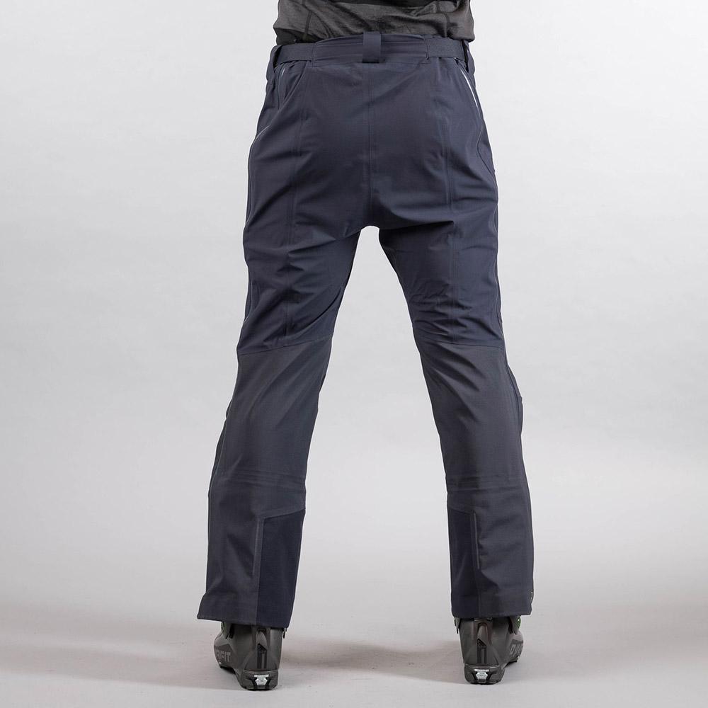 Гръб на мъжки хардшел панталон Bergans Slingsby 3L Pnt Dk Navy