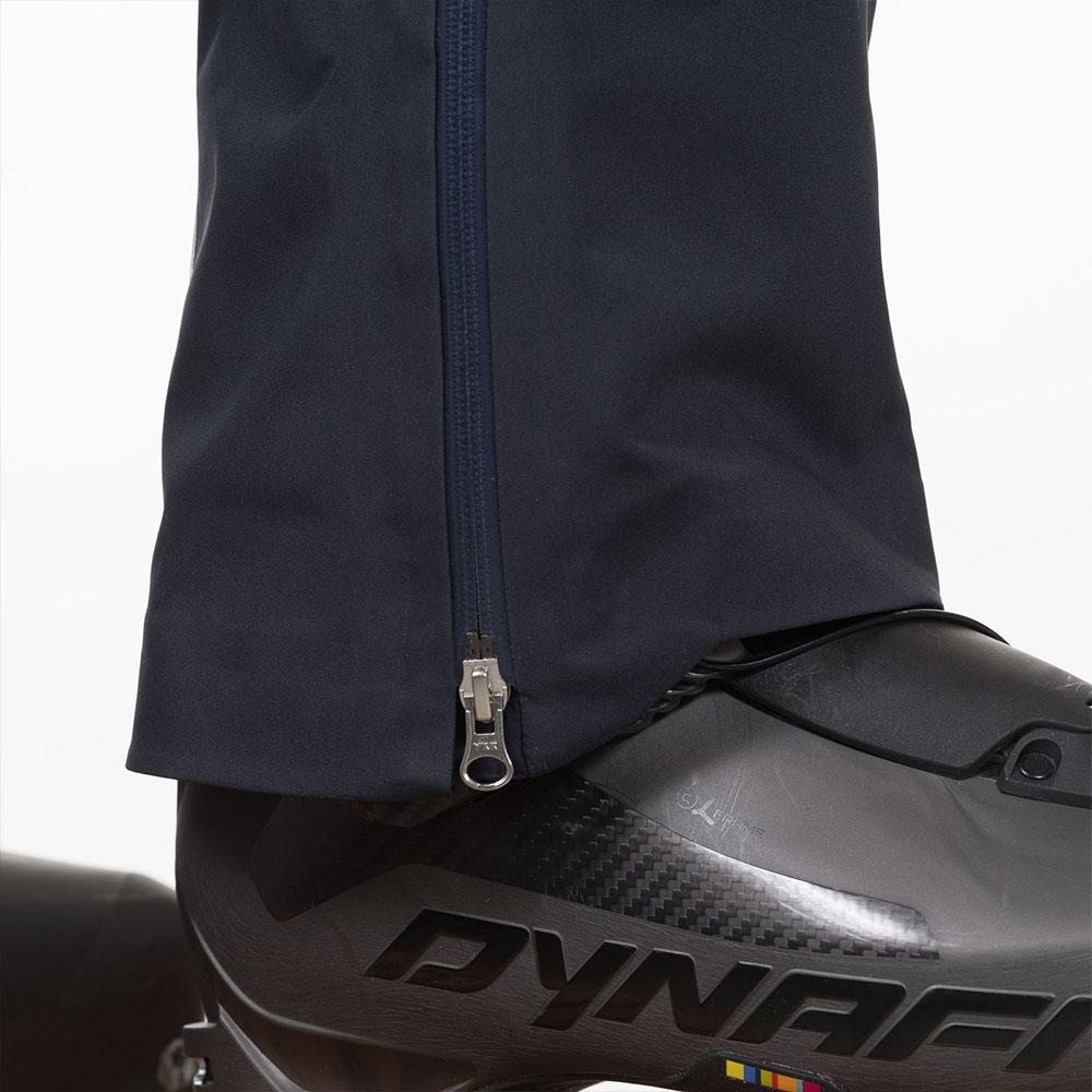 YKK ципове мъжки хардшел панталон Bergans Slingsby 3L Pnt Dk Navy