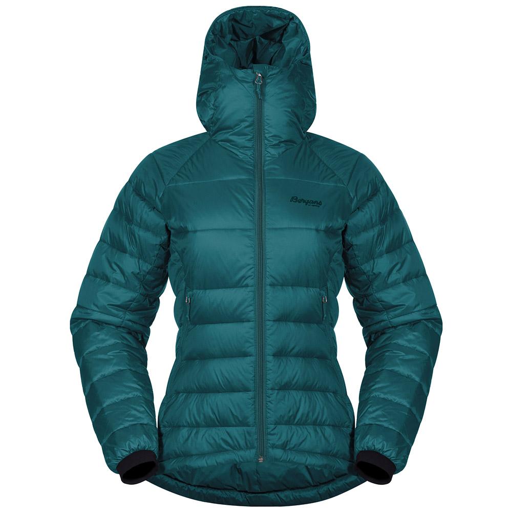 Дамско пухено яке Bergans Slingsby Down Light W w/Hood Alpine 2019