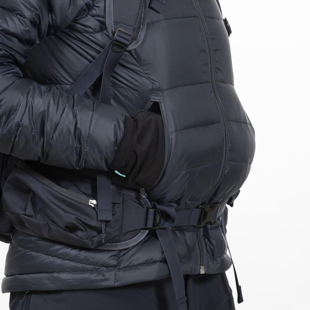 Високи джобове пухенка Bergans Slingsby Down Light W w/Hood