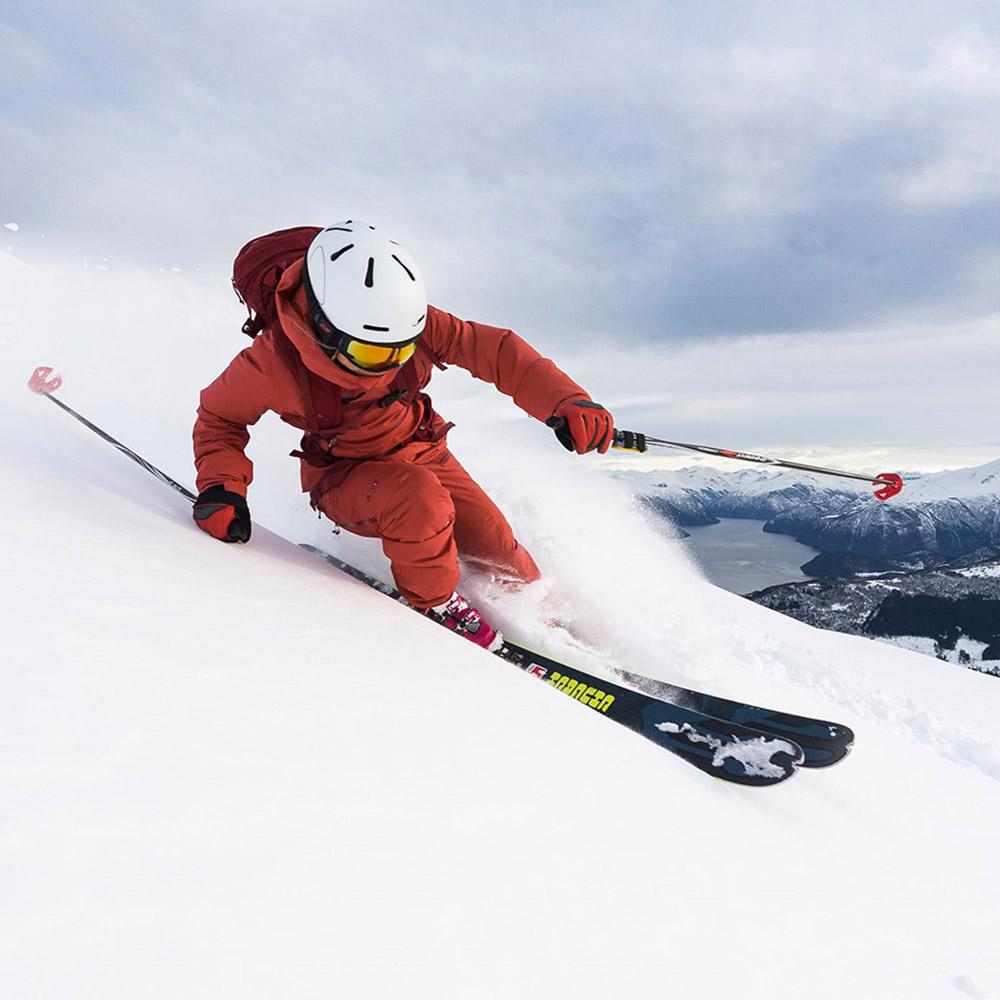 По ски пистата с панталон с изолация Bergans Stranda Insulated W
