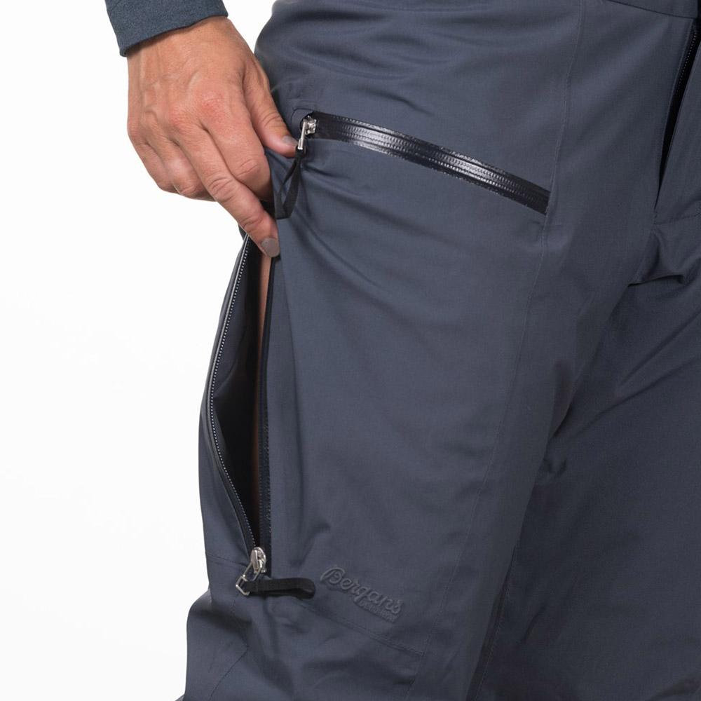 Вентилация с ципове отстрани ски панталон с изолация Bergans Stranda Insulated W