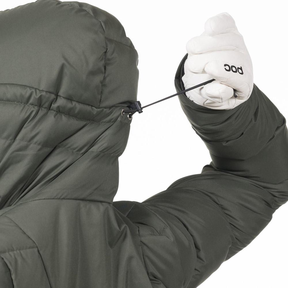 Регулиране на качулка Дамско пухено PrimaLoft ски яке Bergans Stranda Down Hybrid W