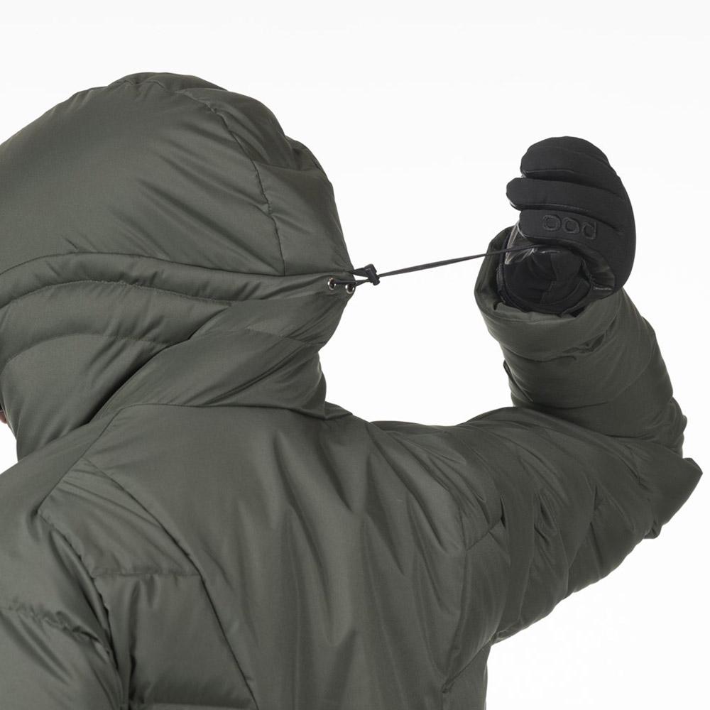 Корекция на качулката пухенка за ски Bergans Stranda Down Hybrid
