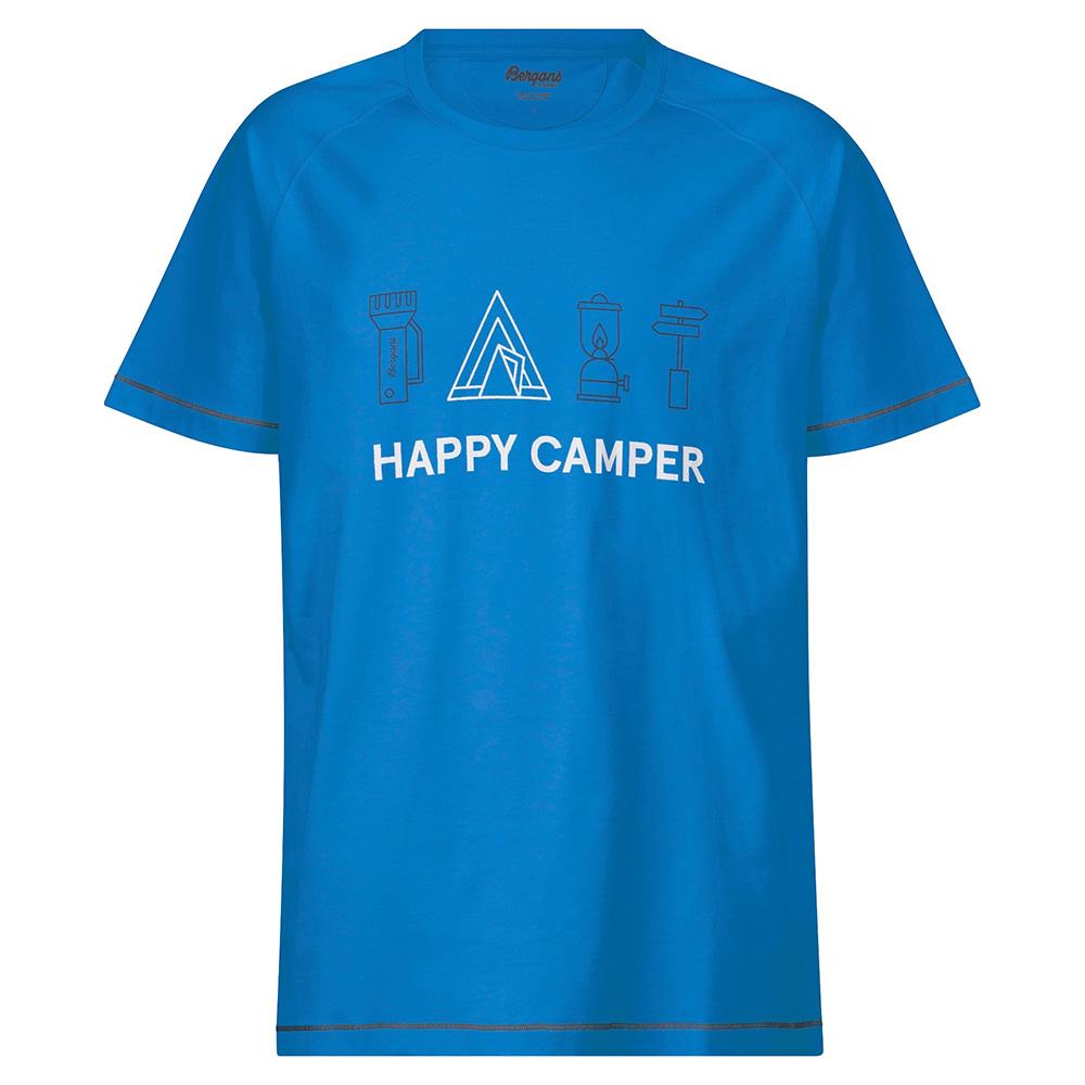 Мъжка тениска Bergans Happy Camper Tee Athens Blue 2020