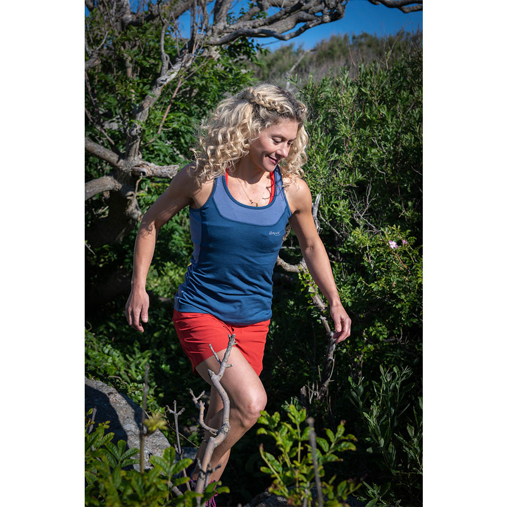 Cecilie Active Wool Singlet Thunder Blue 2020