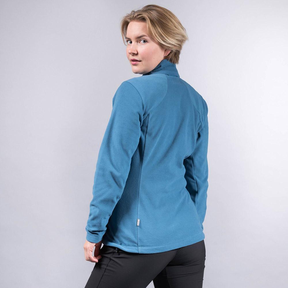 Гръб на дамски полар Bergans Finnsnes Fleece W Stone Blue