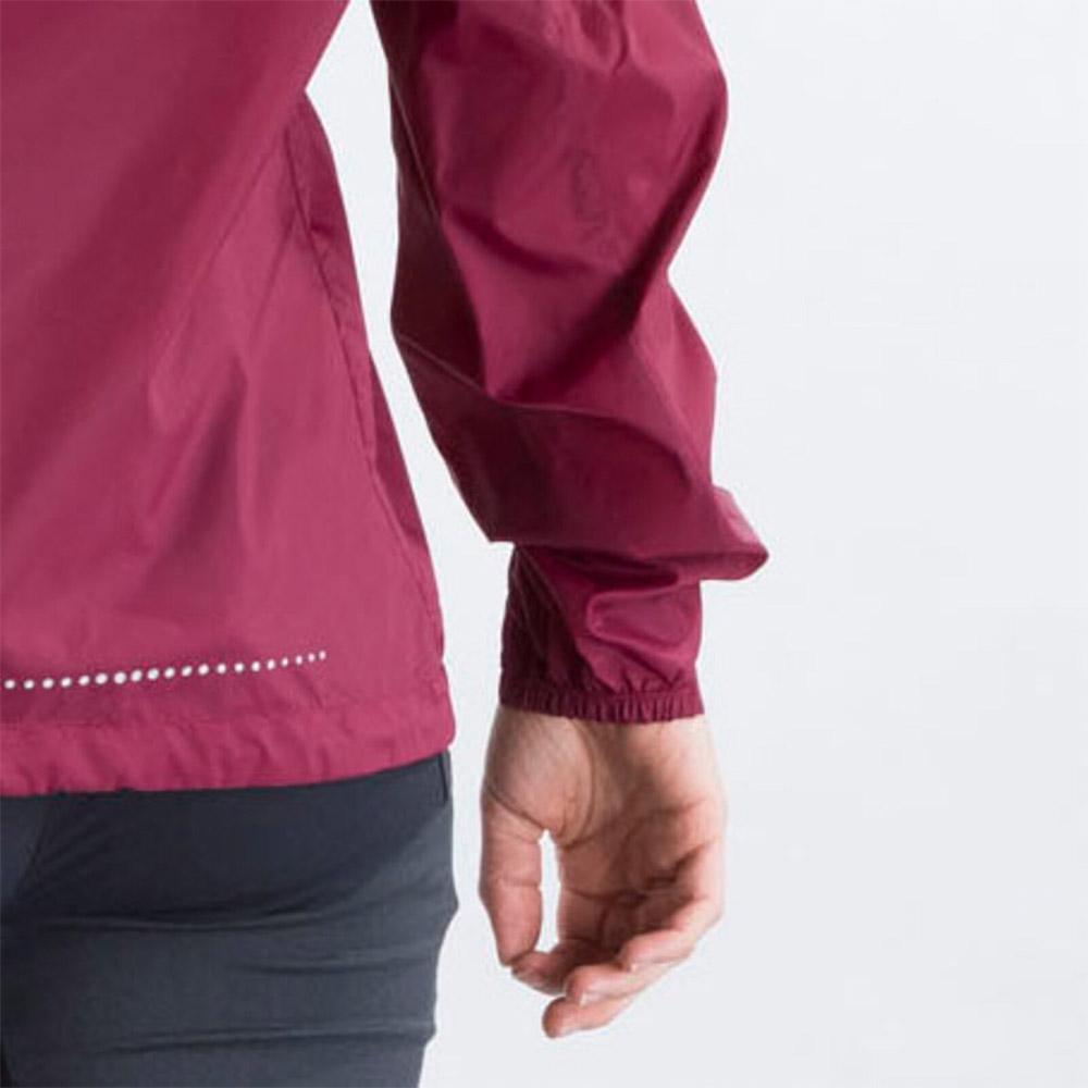 Еластични маншети на дамско софтшел яке Bergans Fløyen W Jacket Beet Red 2020