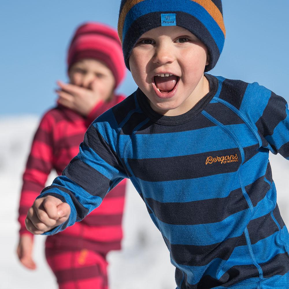 Детска вълнена шапка Bergans Frost Kids Beanie