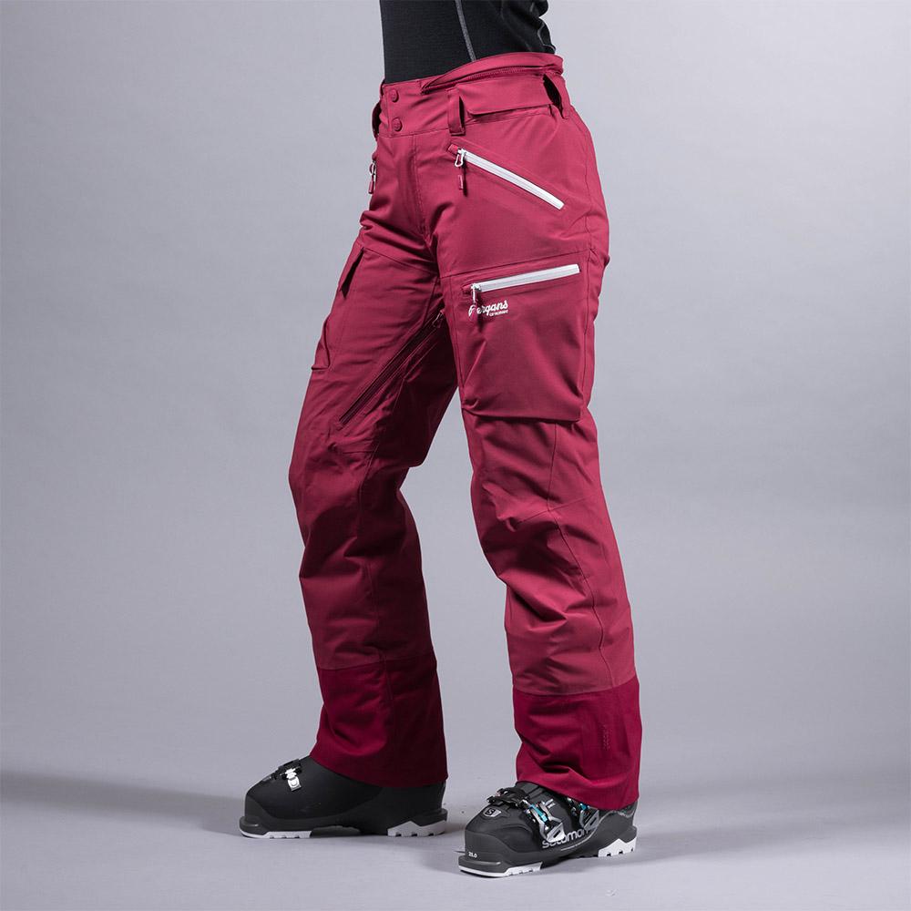 Дамски ски панталон с изолация Bergans Hafslo Insulated Lady Pants Beet Red